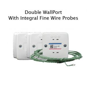 Double WallPort with Integral Fine Wire Probes