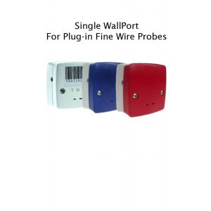 Single WallPort for Plug-In Fine Wire Probes