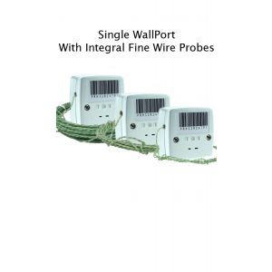 Single WallPort with Integral Fine Wire Probes