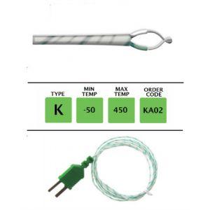 TME-KA02-Fibre-Glass-Fine-Wire-Temperature-Probe