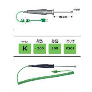 TME-KS01-Fast-Response-Ribbon-Surface-Temperature-Probe-