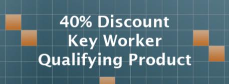 40% Key Worker Discount Identifier
