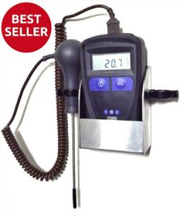 TME-MMWALLKIT-MM2000-Handheld-Thermometer-with-Needle-Probe-and-Wall-Mount-Unit