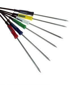 TME_CAP-C_Colour_Coded_T_Type_Needle_Probes - Various Colour_Options