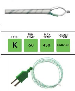 TME-KA02-20-Fibre-Glass-Fine-Wire-Temperature-Probe-Layer