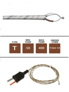 TA02-10_Fibre_Glass_Fine_Wire_Temperature_Probe
