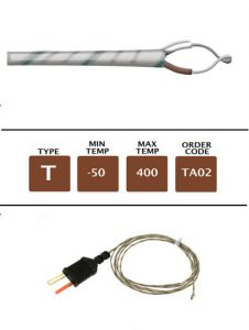 TA02_Fibre_Glass_Fine_Wire_Temperature_Probe