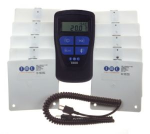 TME-FSP4-MM7000-2D-Cold-Storage-Monitoring-Kit-withMM7000-ThermoBarScan-Thermometer-and-10-Simulant-Temperature-Probes