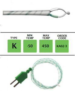 TME-KA02-3-Fibre-Glass-Fine-Wire-Temperature-Probe-Layer