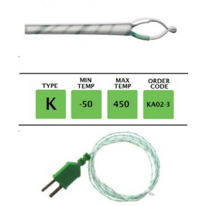 TME-KA02-3-Fibre-Glass-Fine-Wire-Temperature-Probe-Layer
