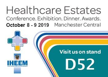 TME's NEW Legionella Water Safety Products at Healthcare Estates 2019