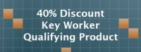 40% Key Worker Discount Identifier