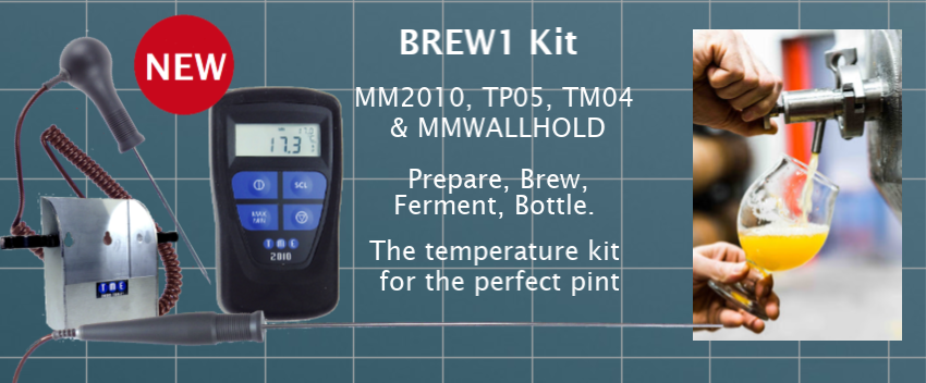 Brewers Temperature Monitoring Kit