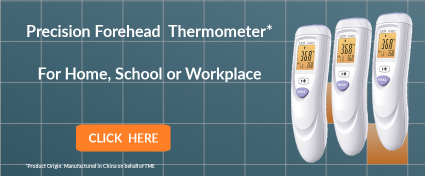 Forehead Thermometer - Managing COVID-19 in the Workplace, School and Home