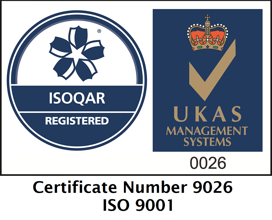 TME ISO 9001 Accreditation Certificate 9026